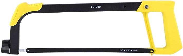 TU-009 Sierra para metales multifunción, herramienta de corte de madera manual para el hogar, hoja de sierra de 12 pulgadas, para cortar madera, plástico, caucho