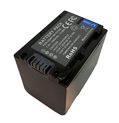 NP-FV70A Reemplazo de la batería de la videocámara Handycam para Sony FDR-AX53...