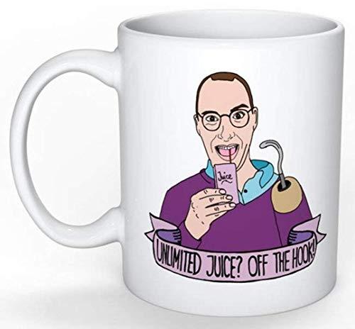 Taza Buster Bluth (Arrested Development) (Lucille George Michael Maeby Funke Tobias, 30 Rock, Parks and Rec, The Office, Seinfeld), taza de café de cerámica de 11 oz, envoltura de regalo disponible