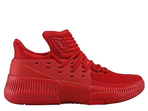 adidas - BB8337 Herren D Lillard 3 Basketballschuhe Sportschuhe rot 53 1/3