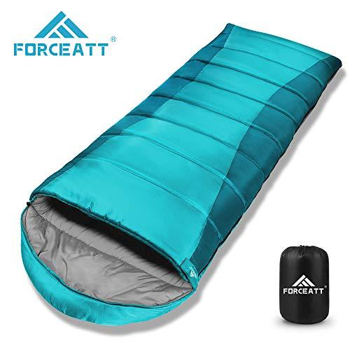 Forceatt 3-4 Jahreszeiten Schlafsack,Allgemeine Temperatur ist -10℃-15℃,Deckenschlafsack für Camping,Reisen und Outdoor-Aktivitäten,Warm halten,Wasserdicht und Reißfest,Gewicht Beträgt 1.85 kg