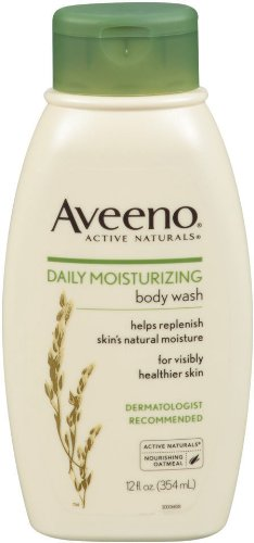 Aveeno Daily Moisturizing Body Wash, 12 Ounce (Pack of 2)