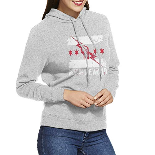 HSJSS Maglione Donna Women's cm Punk Best in The World Hoodies Sweatshirts