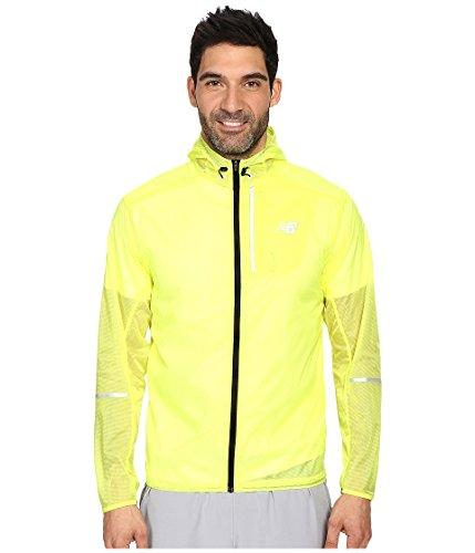 New Balance Lite Packable Jacket Firefly, S, neongelb