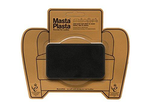 MastaPlasta NIEUW zelfklevende reparatiepatches van suède, zwart maat/design naar keuze EHBO-sofa's, autostoelen, handtassen, jassen enz.