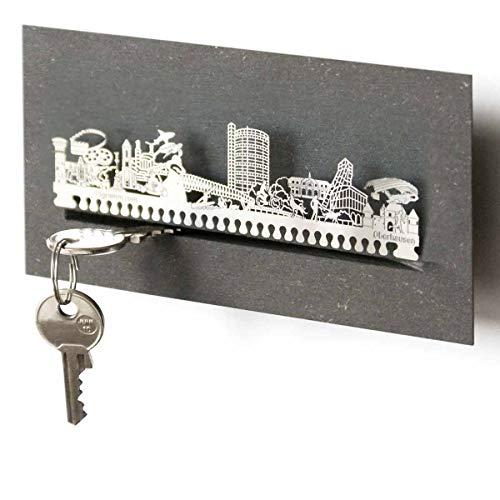 Oberhausen-Skyline Schlüsselbrett Souvenir in der Geschenk-Box