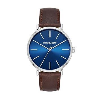 Michael Kors Men s Auden Three-Hand Silver-Tone Alloy Watch MK7146