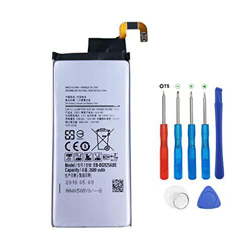 Swark EB-BG925ABE - Batería para Samsung Galaxy S6 Edge SM-G925F (con herramientas)