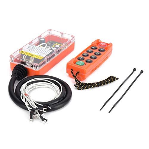H23-C++ resistente de los humos de la soldadura del control remoto industrial inalámbrico voltaje completo para el control inalámbrico (26-635V)