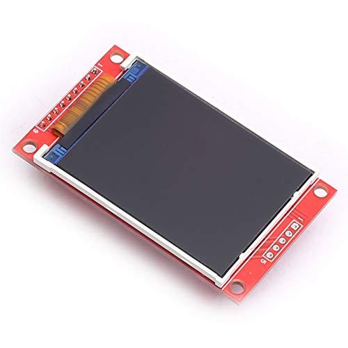 DEVMO 2.2 Inch ILI9341 SPI TFT LCD Display 240x320 ILI9341 LCD Screen with SD Card Slot for Arduino Raspberry Pi 51/AVR/STM32/ARM/PIC
