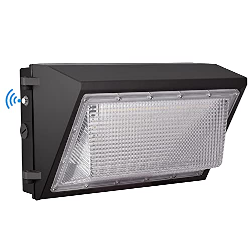LED Wall Pack Light with Dusk to Dawn Photocell,120W 15600LM 5000K Daylight ,AC100-277V Input,750W HPS/HID Equivalent, Waterproof Commercial Security Lighting for Warehouses, Garage,ETL Listed …