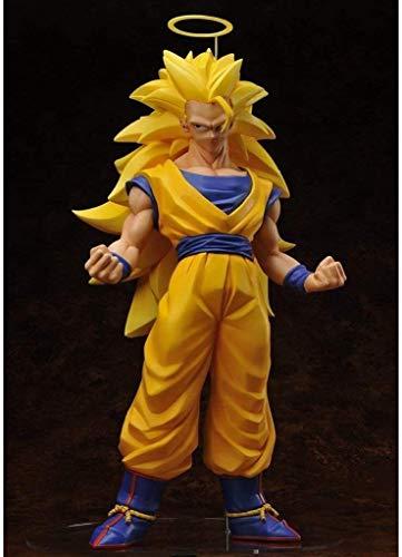 Anime Figura de acción muñeco Dragon Ball Z DBZ ACCIÓN ANIME Figura 48cm Super Saiyan Goku Figuras de PVC de PVC Coleccionable Modelo Estatua Estatua Juguetes Adornos de escritorio