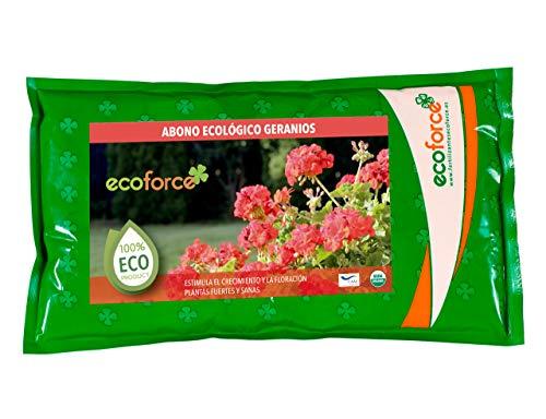 CULTIVERS Abono Especial Geranios y Plantas con Flor de 1,5 kg. Fertilizante...