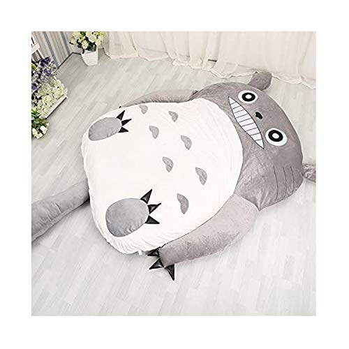 Cartoon Totoro Tatami Mattress Mats, Sofa Bed Soft Warm,Suitable for Lovely Creative Dormitory Mattress Foldable Bedroom Sofa Bed Chair,NO.3:2.0x1.3m