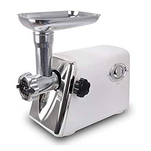 GJNVBDZSF Picadora de Carne Picadora de Carne eléctrica Picadora de Carne Industrial Acero Nueva Picadora de Carne Máquina de puré de ajo Procesador de Alimentos Multifuncional