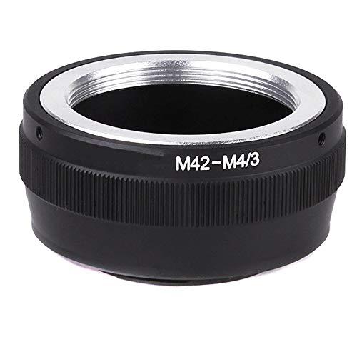 QWLHZW Tongqiang Accesorios para cámara SLR de cámaras sin Espejo de Anillo de Adaptador para Lentes M42 a Micro 4/3 de Montaje en la cámara Olympus ✅