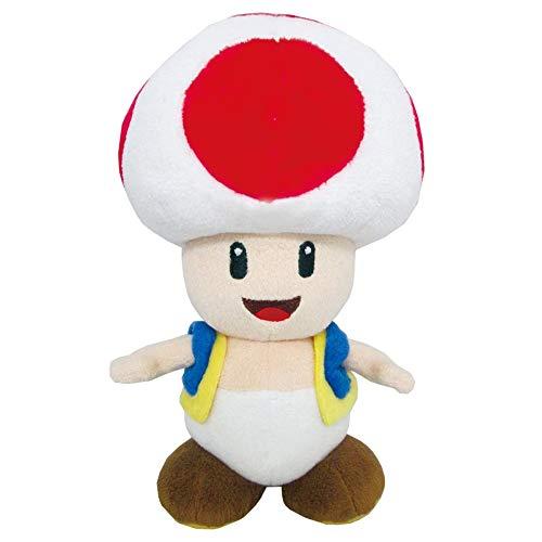 PBM Express Super Mario Plüsch Toad 24cm, bunt