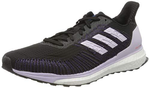 Adidas Damen Laufschuhe-EE4321 Cross-Laufschuh, CBLACK/PRPTNT/Solred , 40 2/3