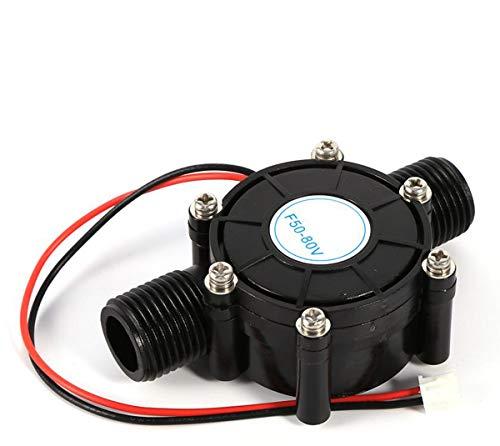 FTVOGUE Générateur de turbine à eau haute performance 10 W 0-80 V (0-80 V).