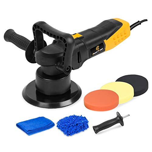 Polisher, 6 Inch Dual Action Car Polisher with Variable...