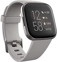 Fitbit Versa 2, el smartwatch que te ayuda a mejorar la salud y la forma física, y que incorpora control por voz,...