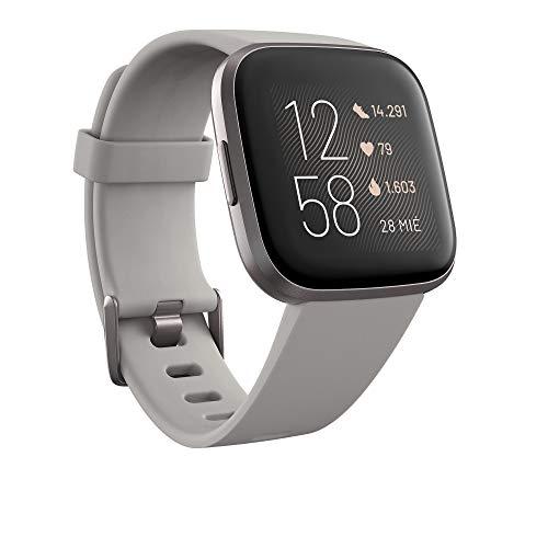 Fitbit Versa 2, Smartwatch con control por voz, puntuación del sueño y...