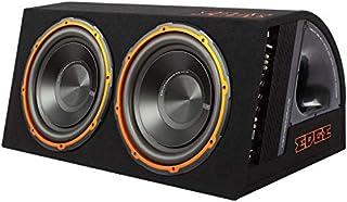 Inex Ecke 12in 1800w Max Doppel Aktiv Auto Audio Bass Box Subwoofer Gehäuse