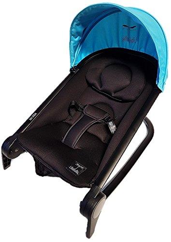 Blue Bleu Nacelle souple ultra l/ég/ère 2kg pliable 0//9 kg Pack Duo Nacelle Trinity 2 Poussette 0//3ans Ultra L/ég/ère 5,5kg Ultra compacte format bagage cabine Avion