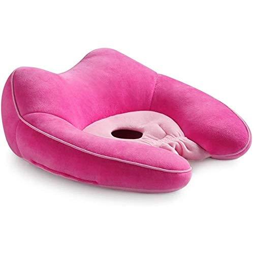 YEXINTMF Cojín cómodo - Hermoso Hip Hop Cojín de ratón Shaping Culo Embarazada Cola Vértebra descompresión del Amortiguador del cojín del Espesamiento Pedo