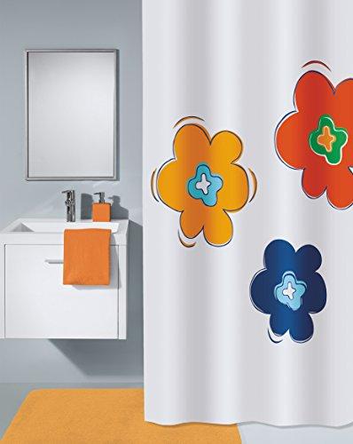 Meusch 2372148305 Duschvorhang Floralis, 180 x 200 cm, Multicolor
