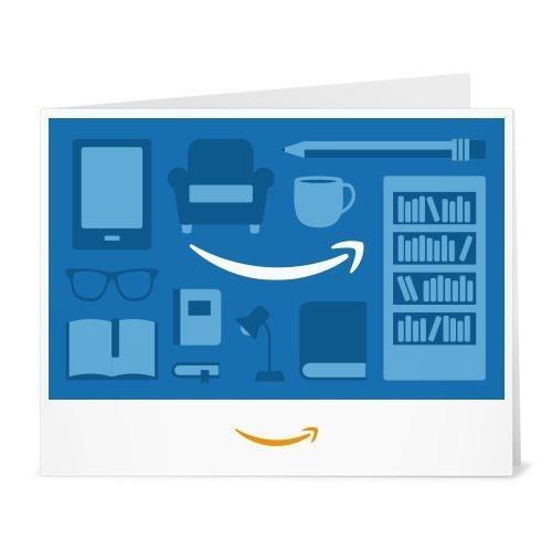 Amazon.de Gutschein zum Drucken (Einrichtung (blau))