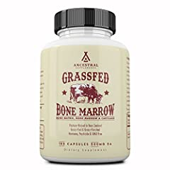 """Based on the concept """"like supports like,"""" consuming bone marrow supports our own bones, marrow, collagen* Supports bones (including teeth), bone marrow and connective tissue health (including gums)* Contains all the nutrients, specialized cells (inc..."""