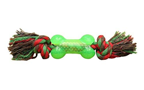 Blancho Lot de 2 Multicolor en Plastique os Style Animaux Chew Jouets Puppy Toy