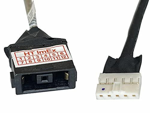 HT ImEx - Conector de fuente de alimentación DC Jack Jack hembra de carga, compatible con Lenovo Yoga 500-14IHW (80N50069GE), 500-14ISK (80R5007UGE), 500-14ISK (80R5007VGE).