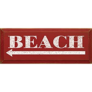 41JeZx6zKhL._SS300_ Wooden Beach Signs & Coastal Wood Signs