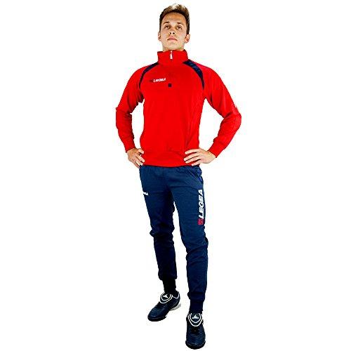 Legea Training Vento Trainingsanzug L rot/blau