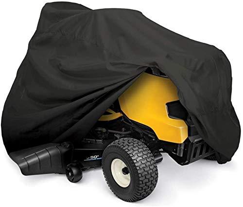 Cubierta para cortacésped - Cubierta para cortadora de Tractor con protección UV, Cubierta para cortacésped de Ajuste Universal Impermeable para Uso intensivo de jardín (Color : L)