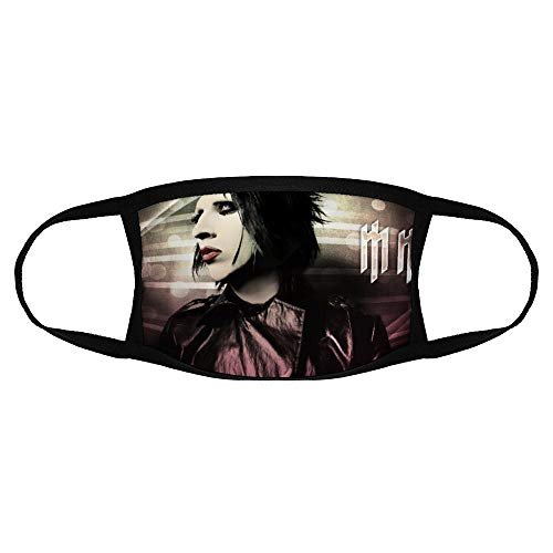 Mjong Balaclava Scarf Cap Beanie Headband Children Masks Marilyn Manson 1 Face Mask Bandana for Kids