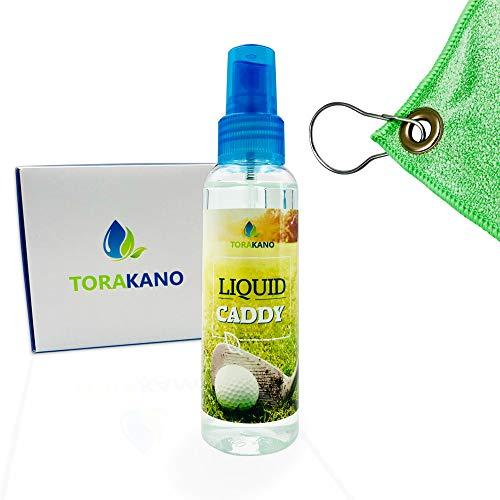 TORAKANO Liquid Caddy Basic Pack - Reinigung & Pflege für Golfschläger und Golf Equipment - Set (Grün)