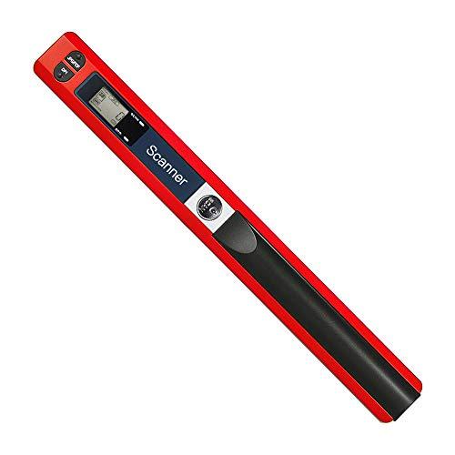 Aibecy Tragbarer kabelloser Handscanner, A4, 900 DPI JPG/PDF Formate LCD-Display mit Schutztasche für Geschäftsdokumente, Erstellen von Büchern