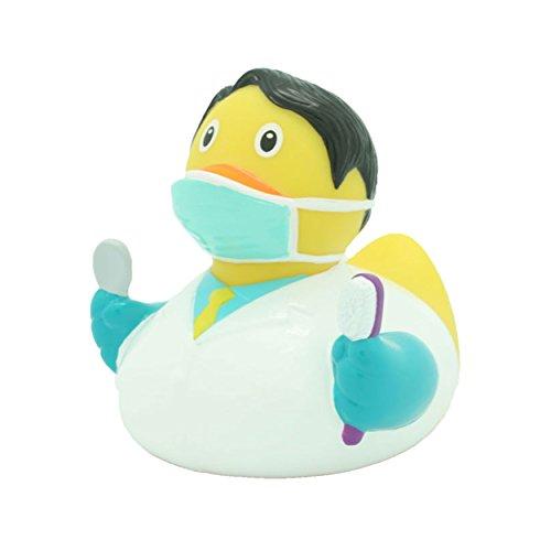 LiLaLu Zahnarzt Ente Gummi Bade Spielzeug