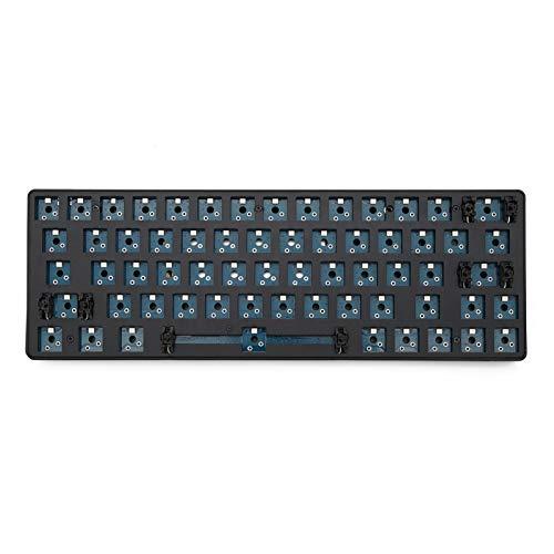 Meccanico Kit 60% Bluetooth 63 Kit Dual-modalità PCB Wireless PCB Keyboard Meccanico Personalizzato R-G-B S-M-D Switch L-E-D Tipo C E Mini Cavo