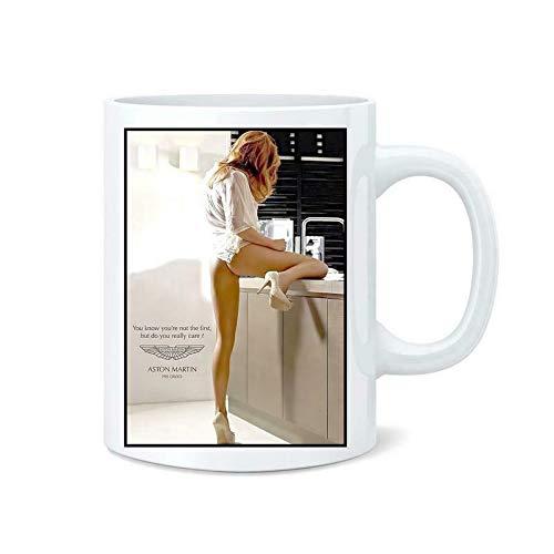 Aston Martin Car Sexist Advertising Coffee Tea Mug Cup - 11oz