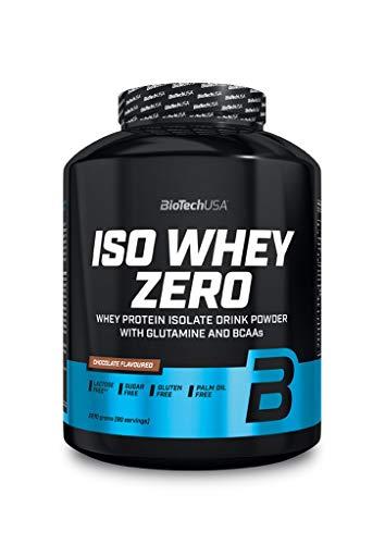 Biotech USA Iso Whey Zero, 3 confezioni da 2270 g, Black Biscuit (confezione da 3)