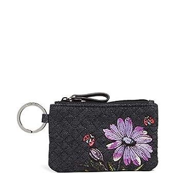 Vera Bradley womens Wallet Vera Bradley Women s Denim Zip ID Case Denim Navy One Size Denim Navy One Size US