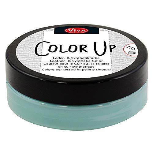 Viva Decor®️ Color Up (Türkis, 50ml) Lederfarbe, Leder-Schuhcreme zum Färben von Leder, Kunstleder, Gummi, Sneaker - Textilfarbe - Made in Germany
