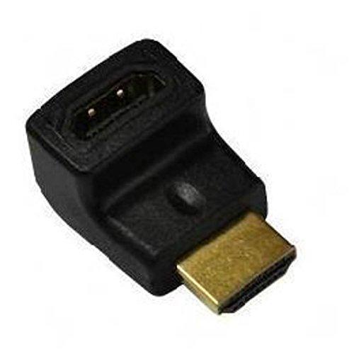 Nilox NX080200113 Adaptador de Cable HDMI Negro - Adaptador para Cable (HDMI, HDMI, Male Connector/Female Connector, Negro)