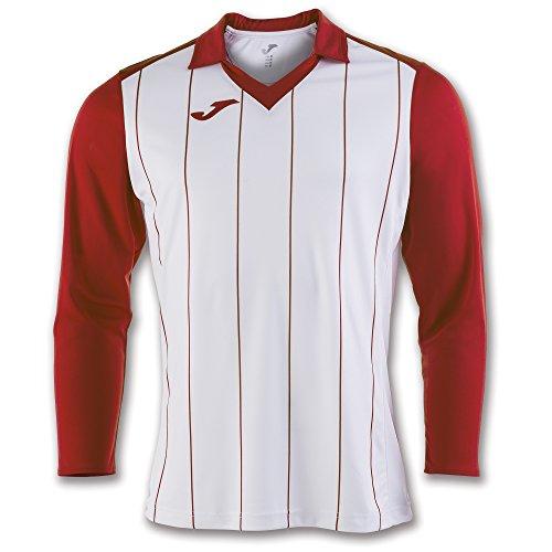 Joma Grada Camiseta, Hombres, Multicolor (Blanco/Rojo), 2XL-3XL
