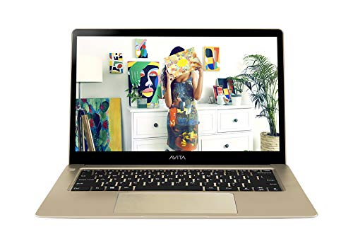 AVITA LIBER NS13A1IN004P 13.3-inch FHD Ultra Slim & Light (Core i5-7th Gen/8GB/256GB SSD/Windows 10 Home/Integrated Graphics/1.37 kg), Champange Gold