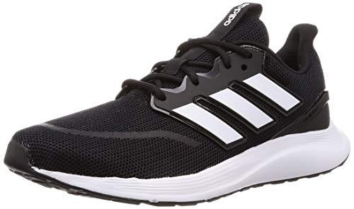 Adidas Energyfalcon, Zapatillas de Trail Running para Hombre, Negro (Negbás/Ftwbla/Grisei 000), 50 2/3 EU